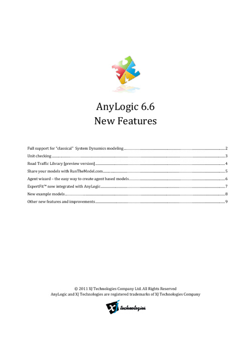 New AnyLogic Release!