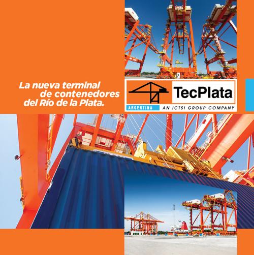 TecPlata: La nueva terminal de contenedores del Río de la Plata.