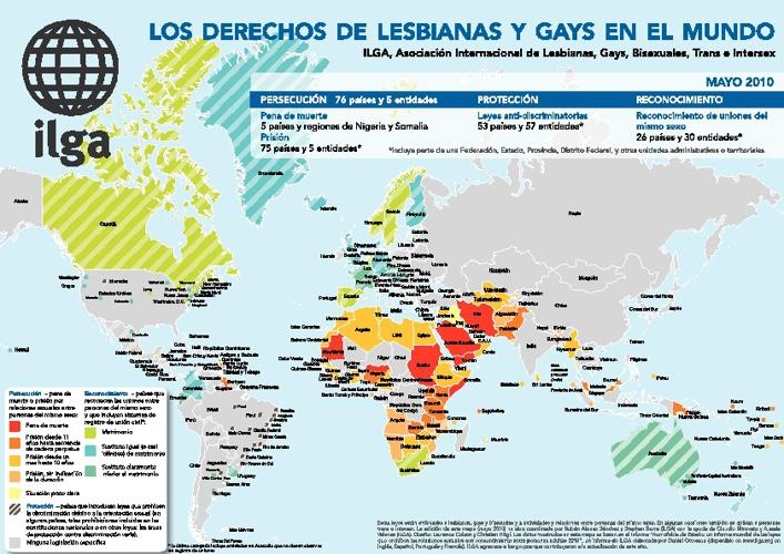 Mapa Homofobia
