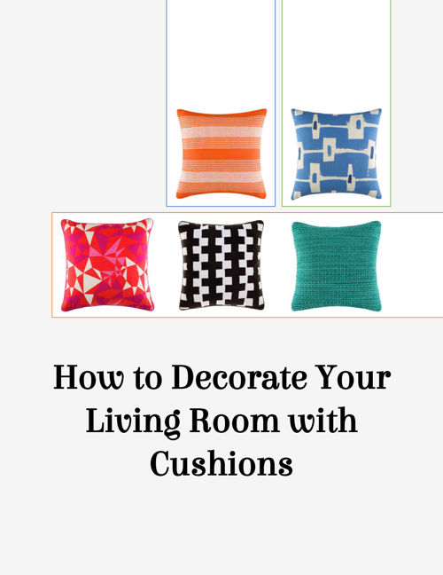 How to Decorate Your Living Room with Cushions