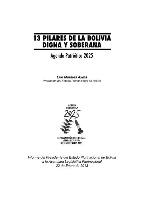 13 PILARES AGENDA 2025