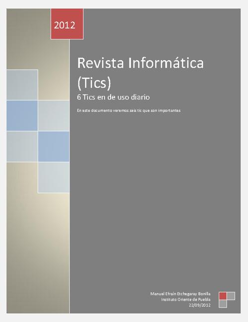 Proyecto Informatica (Tics)