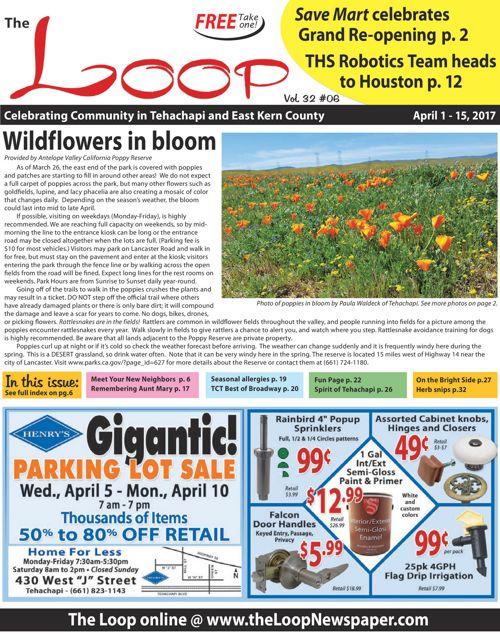 The Loop Newspaper - Vol 32 No 06 - April 1 to 15, 2017