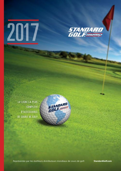 Standard Golf 2017 French Product Catalog