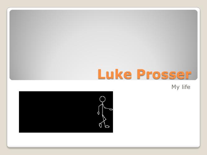 Luke's Life