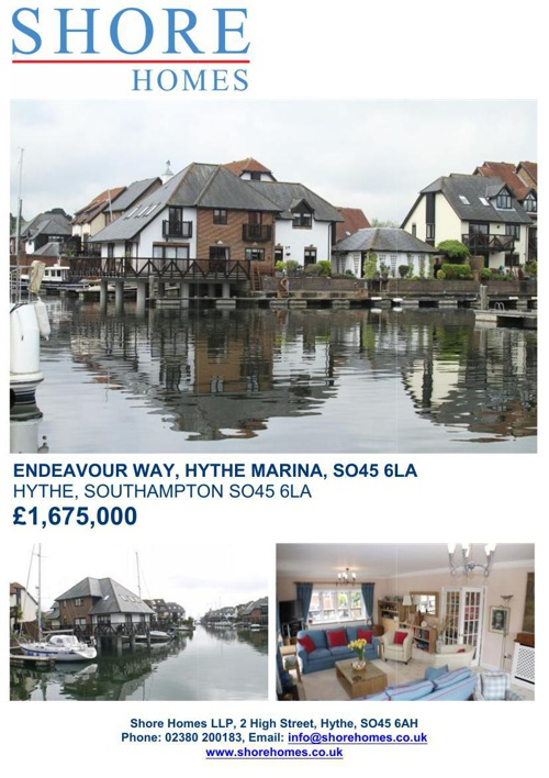 69 ENDEAVOUR WAY, HYTHE MARINA