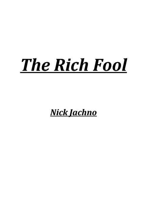 The Rich Fool (Luke 12:13-21)