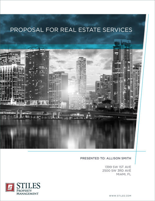 Proposal for Real Estate Services