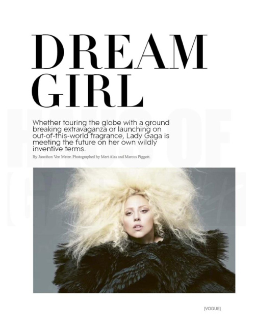 VOGUE: Lady Gaga September Issue 2012
