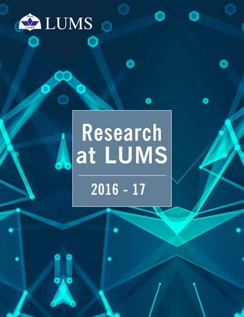 Lums Research Reprot - 2016-17