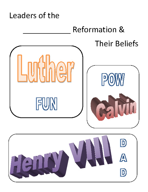 Protestant Reformers