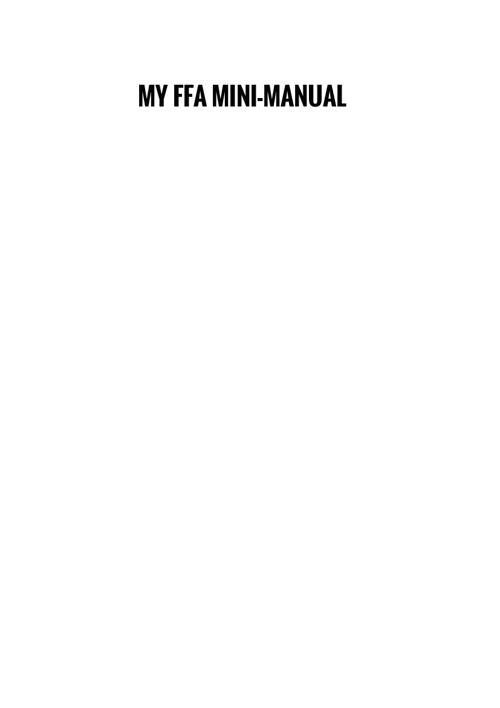 FFA mini manual