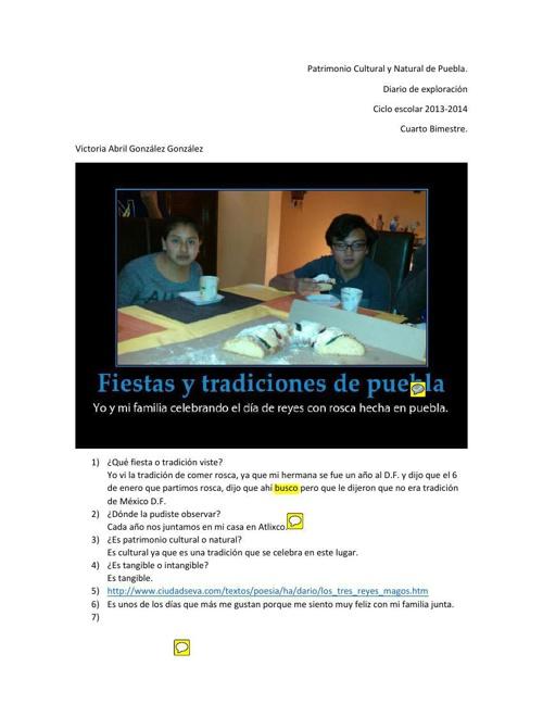 Diario de Exploración Bim. 4