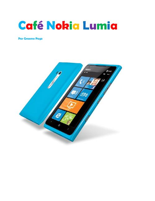 Cafe Nokia Lumia