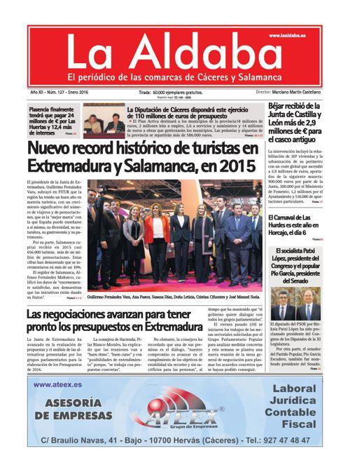 La Aldaba Enero 2016
