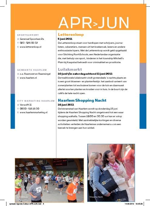 Alkmaar agenda