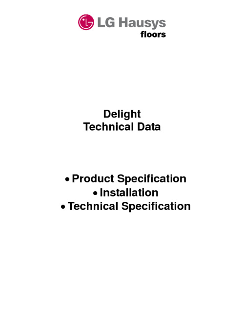 Delight Technical Data