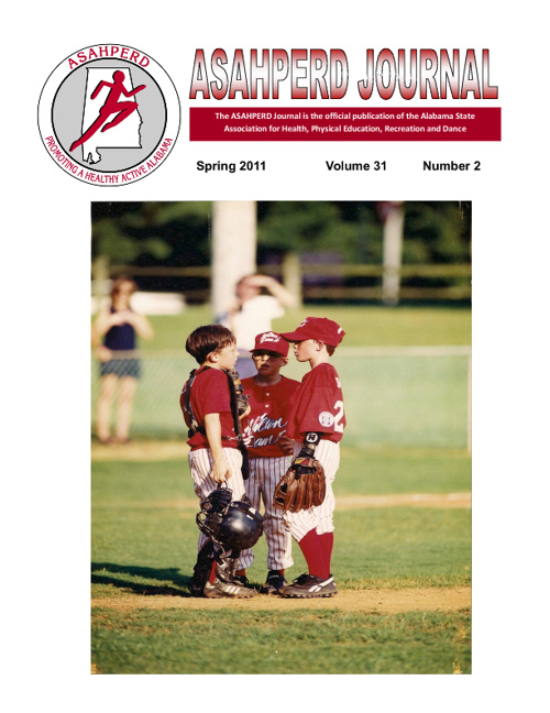 ASAHPERD Journal Spring 2011