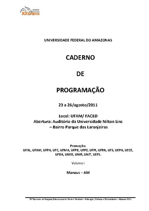 programação EPENN 2011