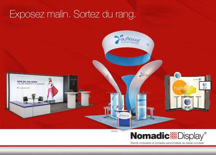 Nomadic Display FR Product Brochure