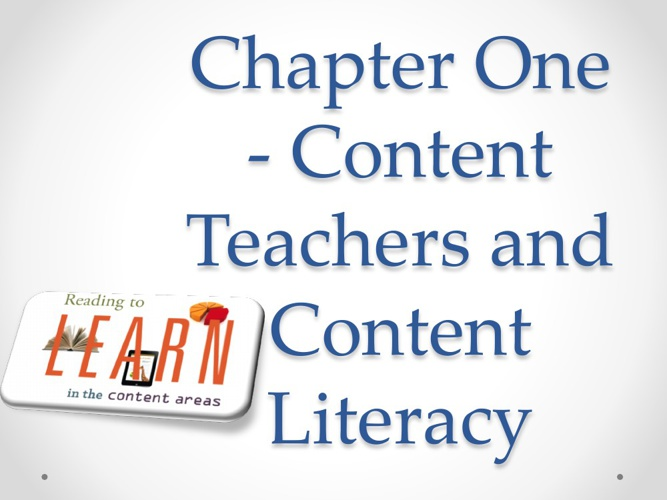 EDUC 316 - Chapter One