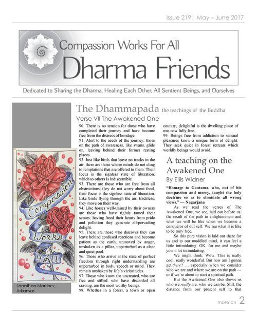 Dharma Friends Issue 219
