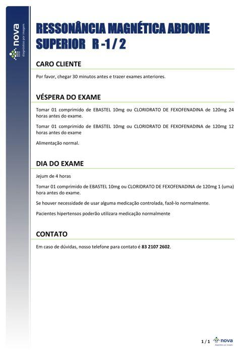 34 RM ABDOME SUPERIOR RISCO 1 E 2
