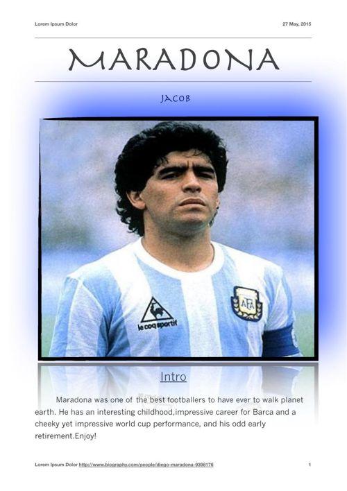 Maradona final