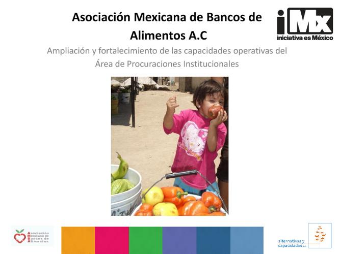 RF - Asociación Mexicana de Bancos de Alimento - Fortalecimiento