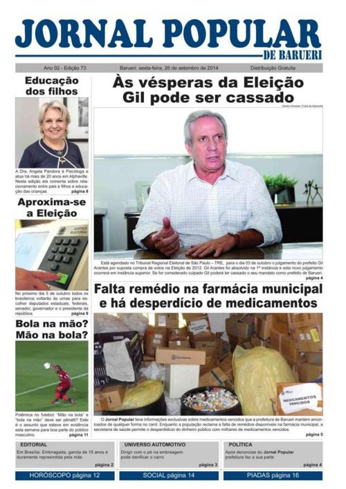 73ª edição do Jornal Popular de Barueri