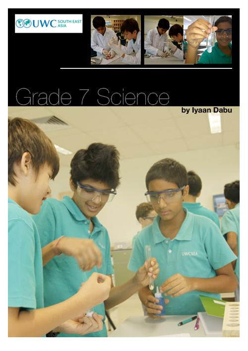 Iyaan Dabu 7.3 Science Booklet