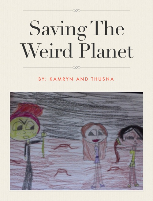 save the wierd planet