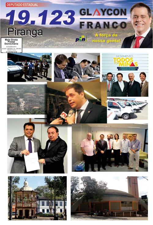 Jornal Piranga - Glaycon Franco