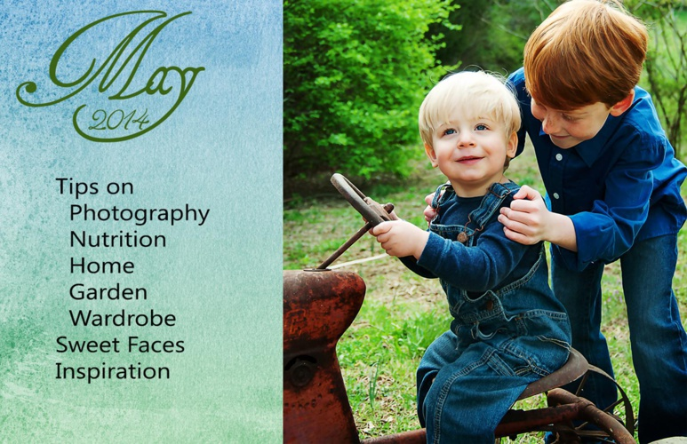May E-zine from Gentle Touch Portraits