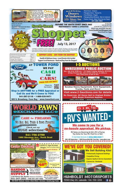 South Coast Shopper e-Edition 7-13-17
