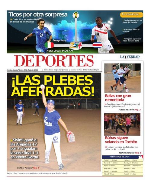 DEPORTES 2o jun 2014