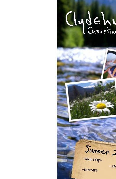 2012 Clydehurst Christian Ranch Brochure