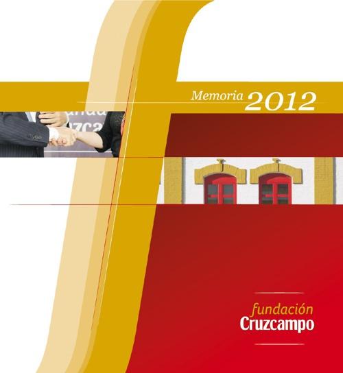 Memoria Fundación Cruzcampo 2012