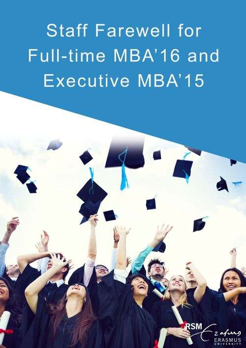 MBA Staff Farewell 2015