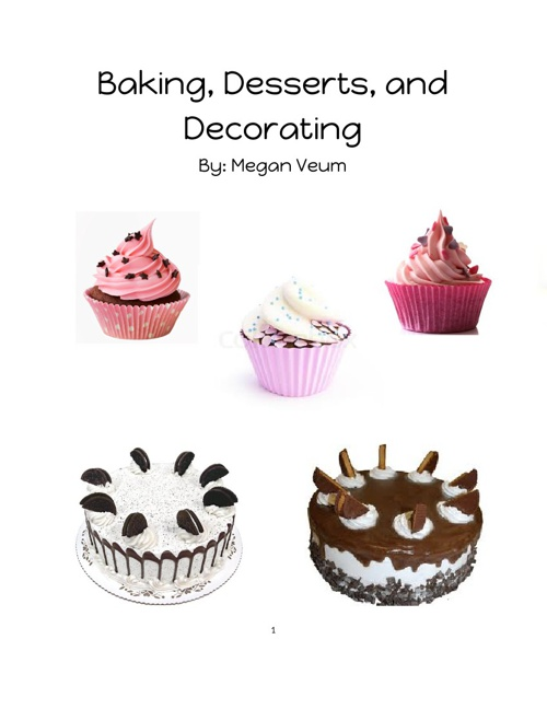 Baking, Desserts, and Decorating