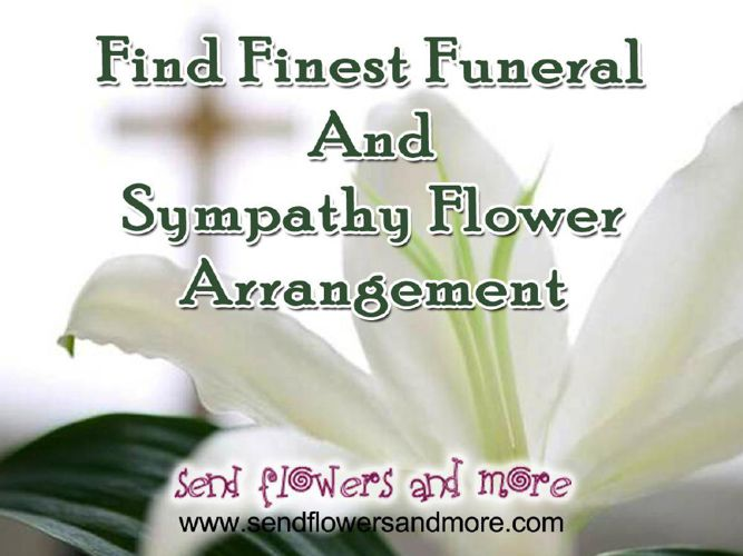 Online Beautiful Sympathy Flowers Delivery