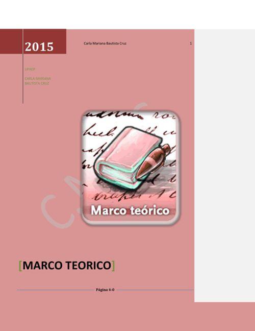 Marco Teórico Carla Mariana Bautista Cruz.