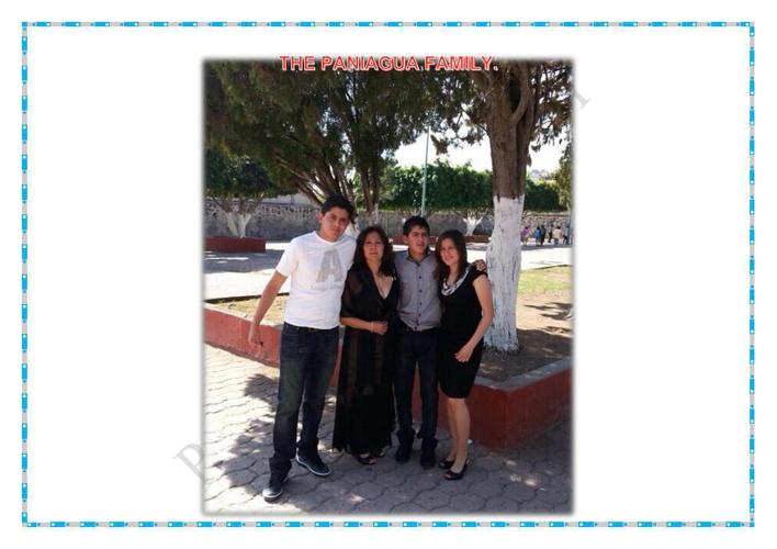 Paniagua´s family