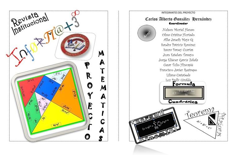 Revistas Infórmate de Matemáticas