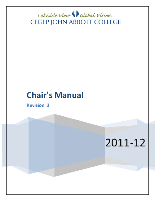 Copy of Chairs Manual