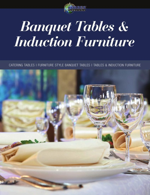 (08) Banquet Tables & Induction Furniture