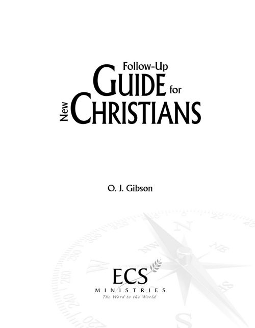 Follow Up Guide for New Christians PDF