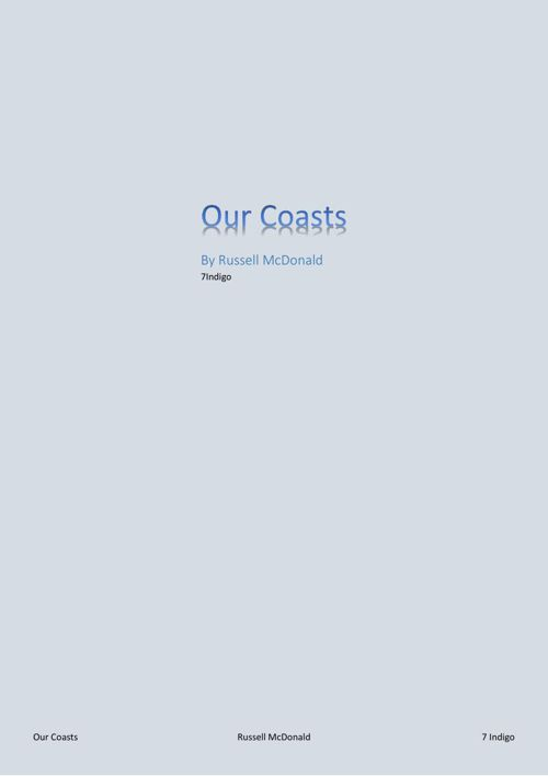 Our Coasts by Russell McDonald