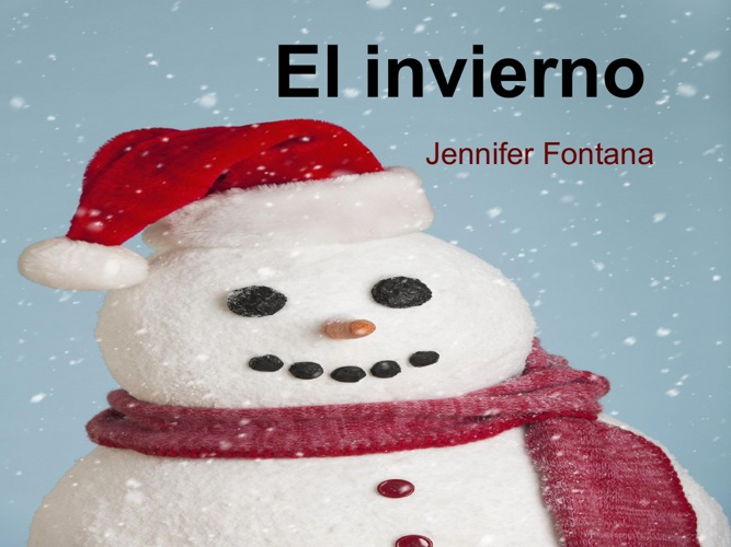 El invierno - Jennifer Fontana