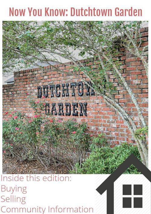 Now You Know: Dutchtown Garden